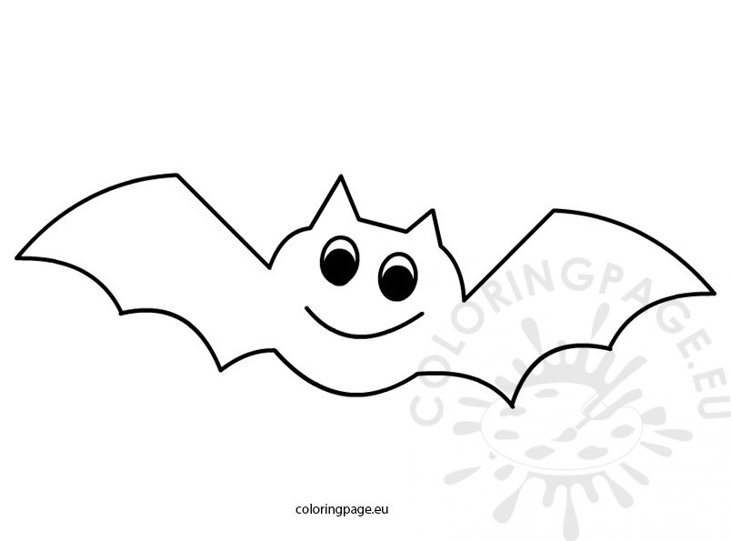 free printable halloween coloring pages bats bat coloring pages preschool at getcoloringscom free printable pages free bats halloween coloring