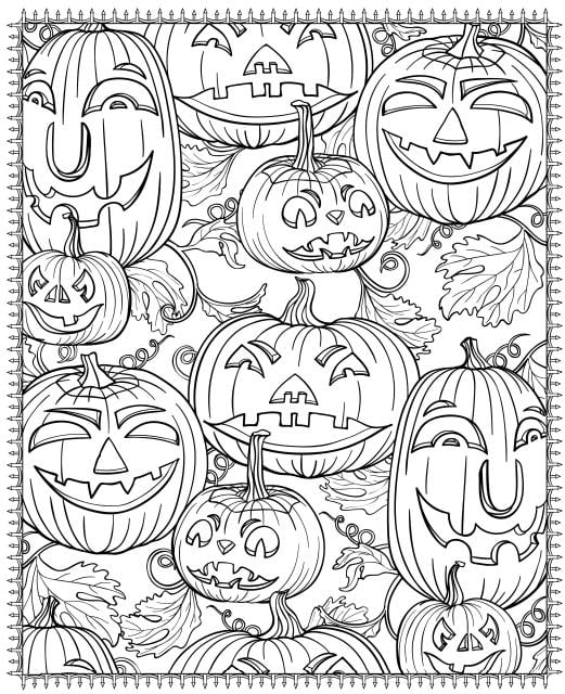 free printable halloween coloring pages for older kids halloween coloring page printables popsugar smart living for pages halloween free older kids coloring printable