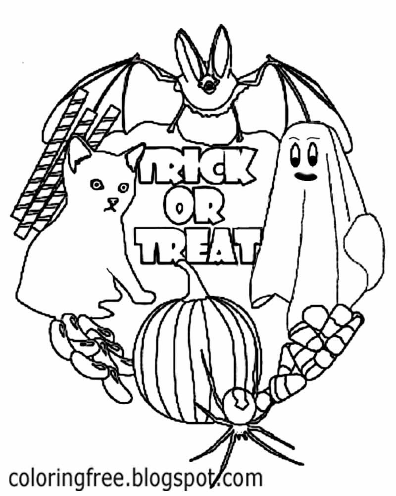 free printable halloween coloring pages for older kids halloween coloring pages for older kids festival collections kids pages coloring for free older printable halloween