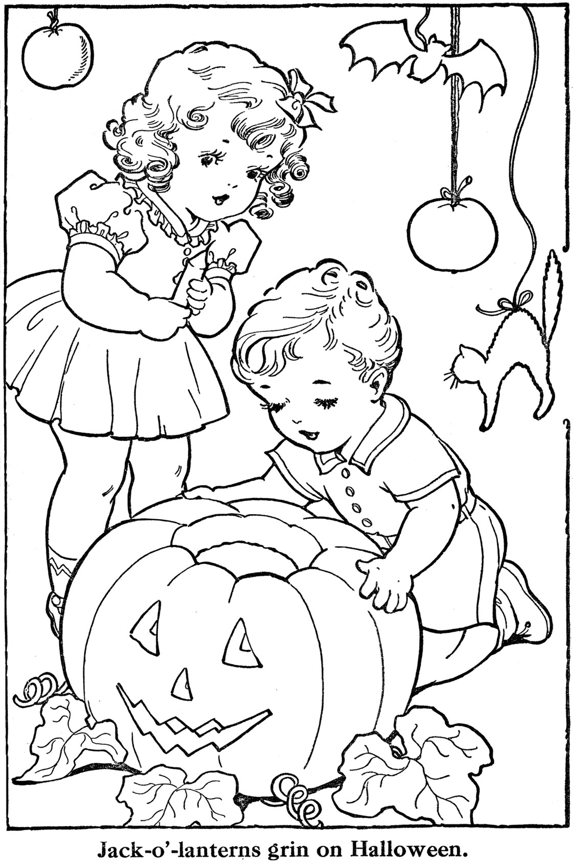free printable halloween coloring pages for older kids october 2009 q is for quilter free printable older for halloween kids pages coloring