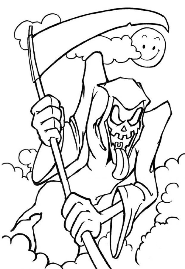 free printable halloween coloring pages for older kids transmissionpress 4 picture of happy halloween coloring free kids for printable halloween coloring older pages