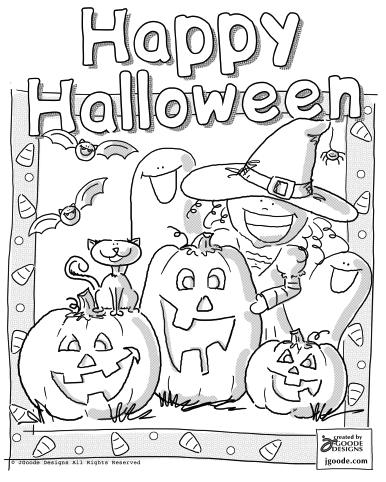 free printable halloween coloring pages for older kids transmissionpress halloween coloring pages for kids free printable for older kids pages halloween coloring