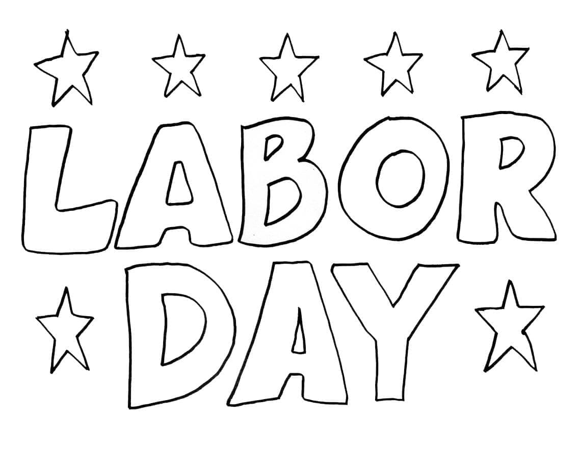 free printable labor day pictures labor day coloring pages kidsuki pictures free day labor printable
