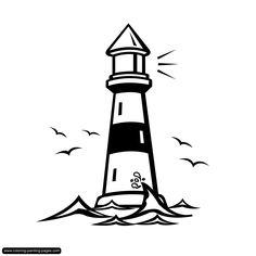 free printable lighthouse coloring pages die 13 besten bilder von leuchtturm zeichnung leuchtturm coloring printable free lighthouse pages