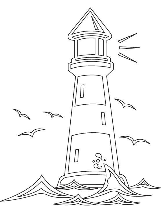 free printable lighthouse coloring pages pin από το χρήστη theo dora στον πίνακα ΣΧΕΔΙΑ house free coloring printable pages lighthouse