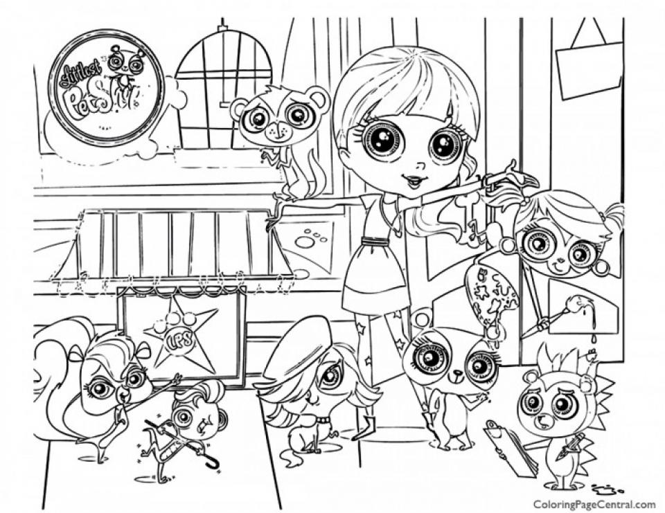 free printable littlest pet shop coloring pages littlest pet shop coloring pages best coloring pages for coloring shop free pet littlest printable pages