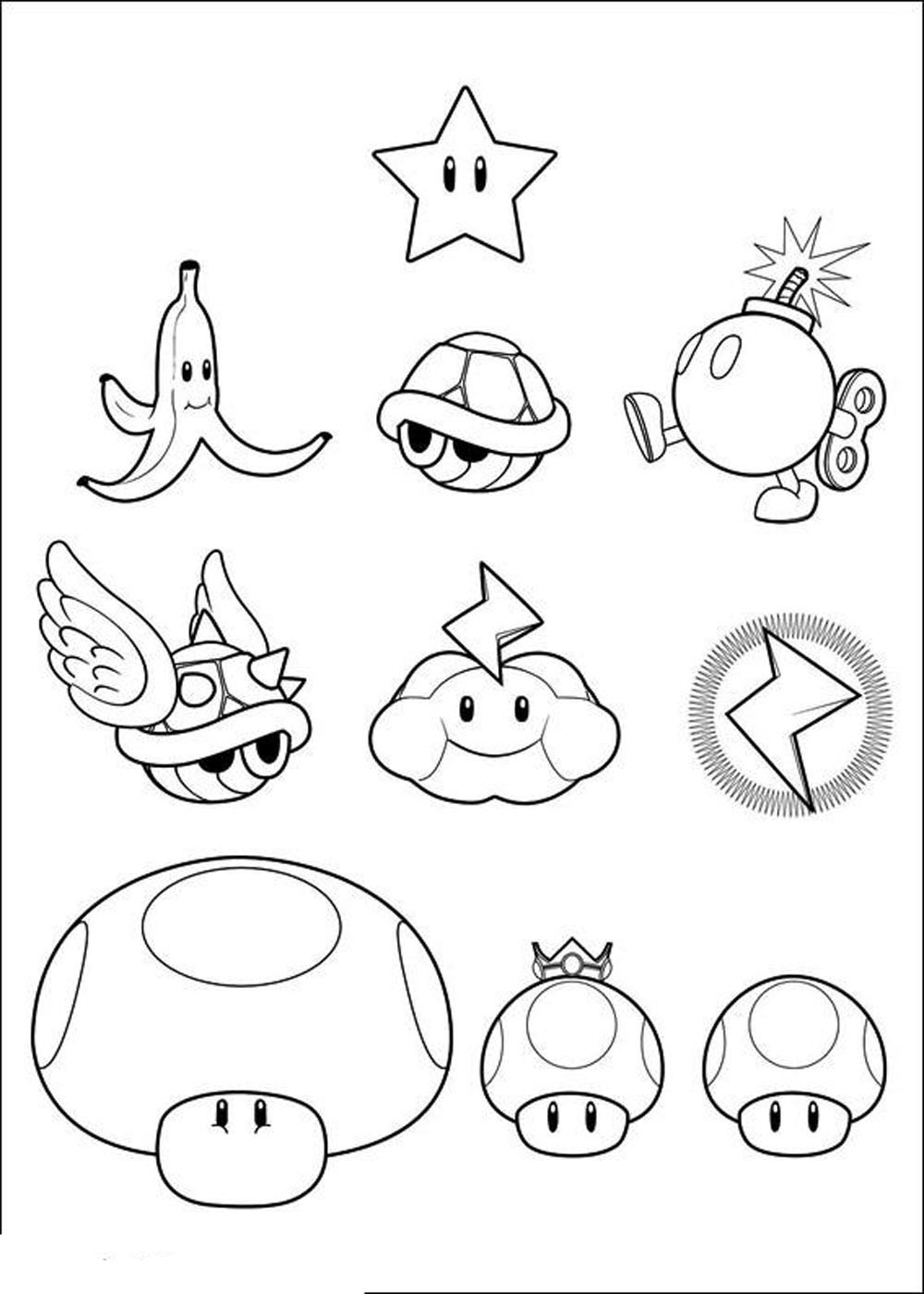 free printable mario coloring pages mario coloring pages themes best apps for kids mario coloring free pages printable