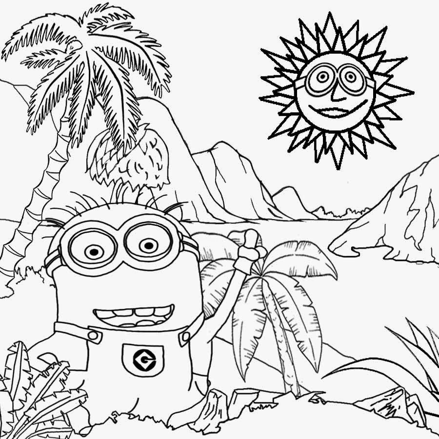 free printable minion coloring pages free coloring pages printable pictures to color kids minion pages free coloring printable