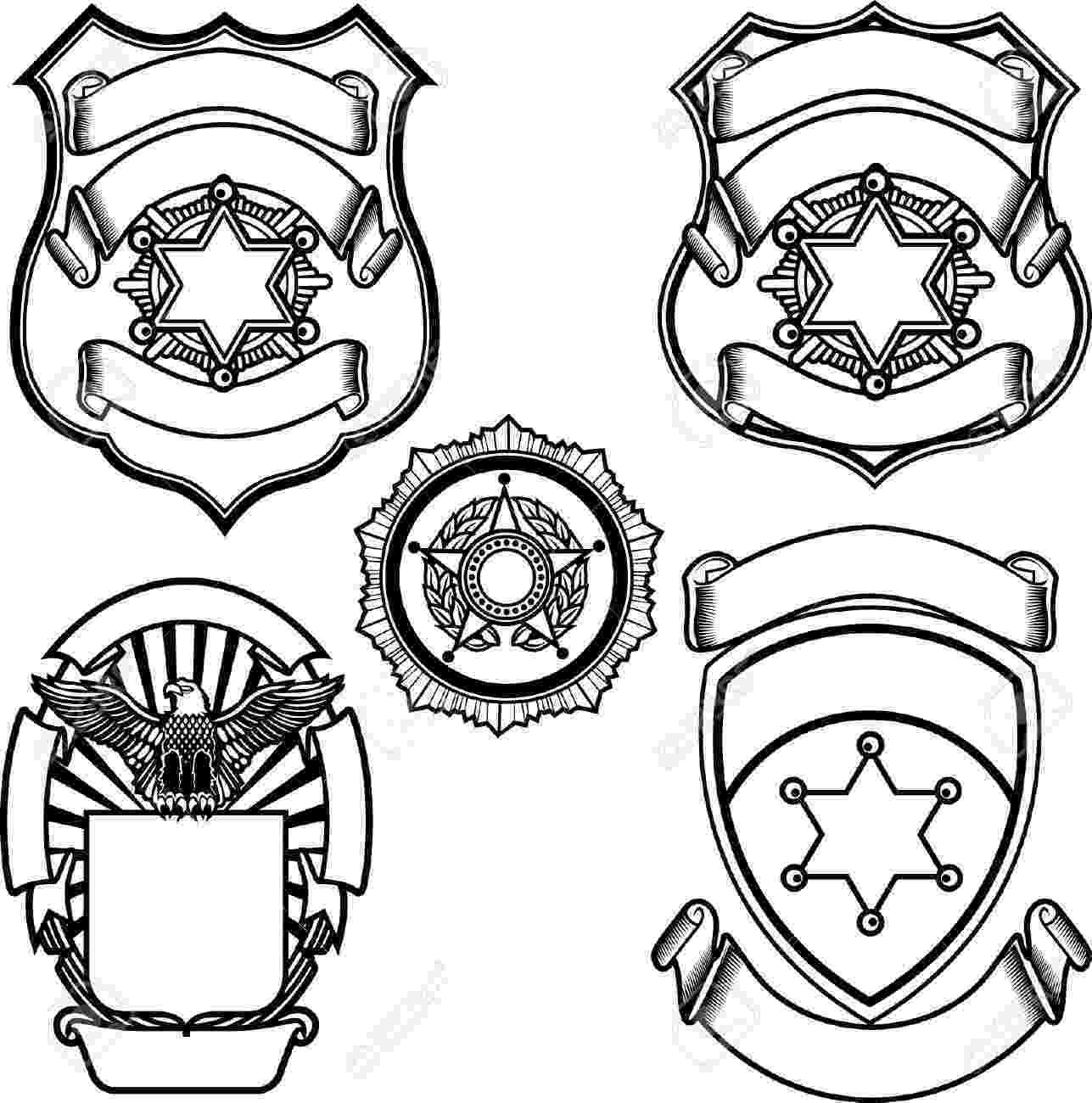 free printable police badge template sheriff badge template free printable templates free police badge template printable