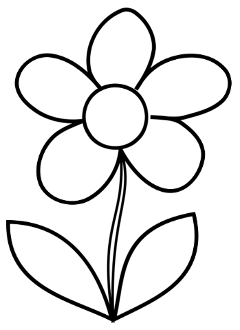 free printable preschool flower coloring pages download free daisy drawing page printable flower pages coloring flower printable preschool free