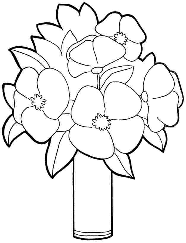 free printable preschool flower coloring pages flower nature printables free printable templates flower free pages preschool coloring printable