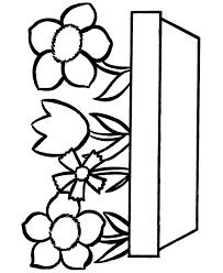 free printable preschool flower coloring pages free printable flower coloring pages for kids best free printable coloring pages preschool flower