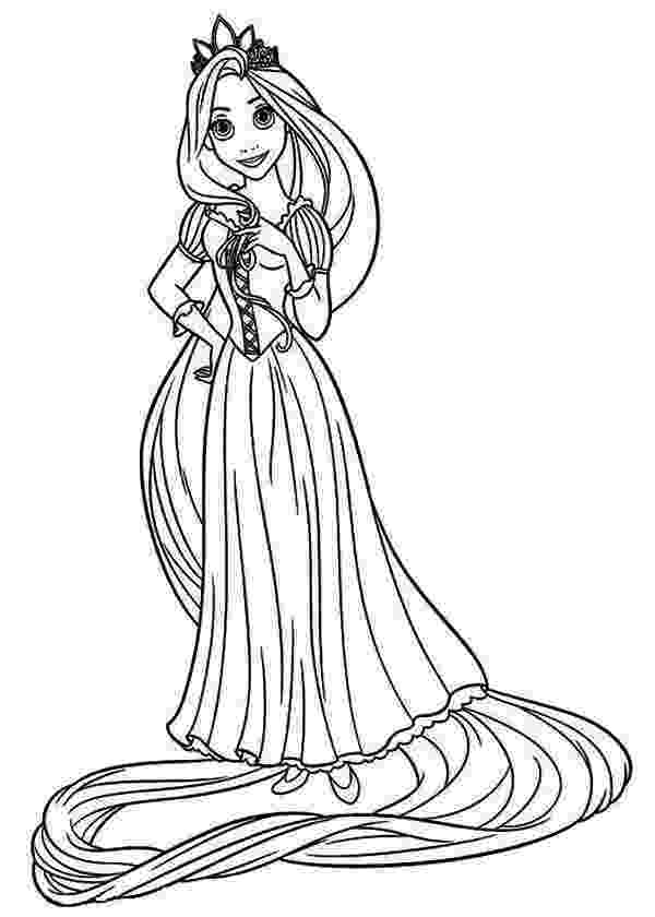 free printable rapunzel coloring pages rapunzel disney drawing at getdrawings free download coloring free printable rapunzel pages