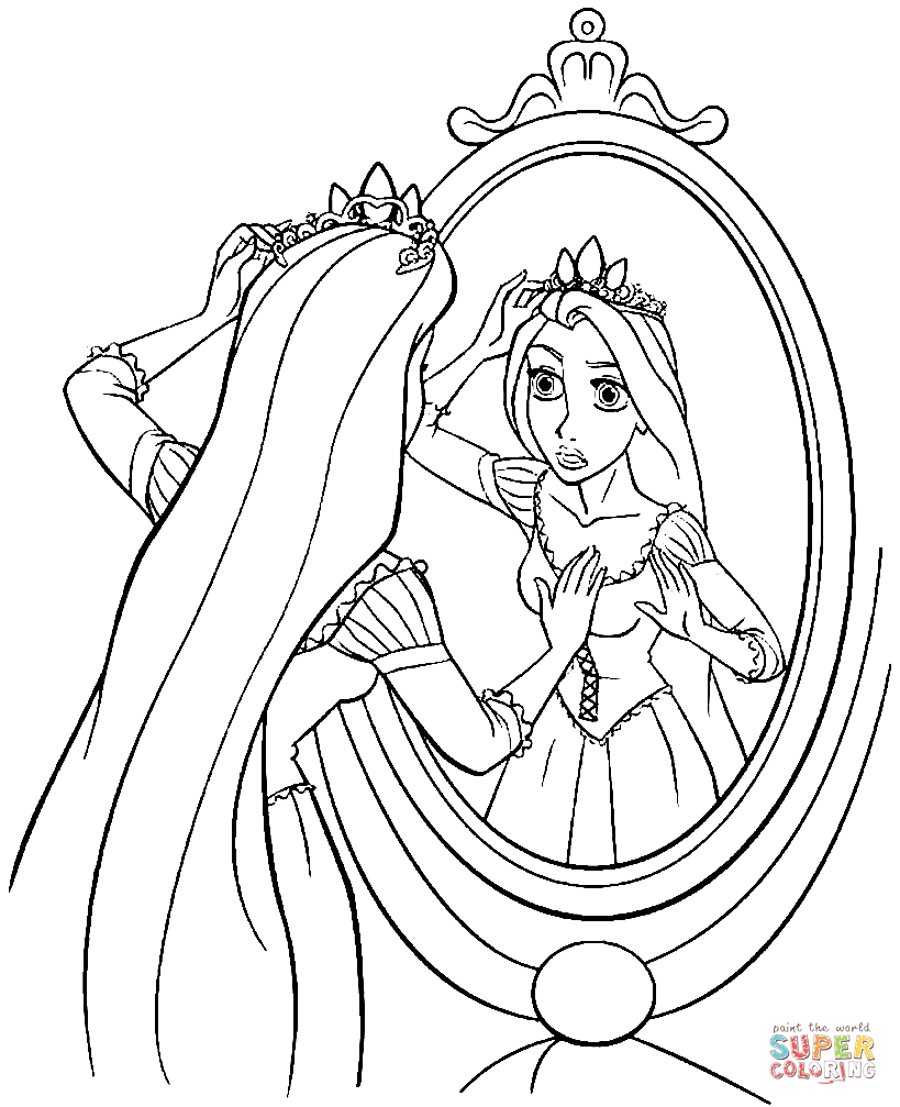 free printable rapunzel coloring pages rapunzel tangled drawing at getdrawingscom free for rapunzel coloring pages free printable