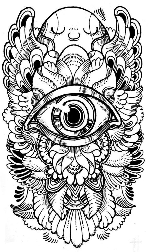 free printable trippy coloring pages trippy drawing at getdrawingscom free for personal use free pages printable coloring trippy
