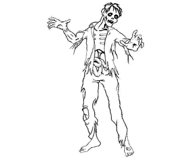 free printable zombie coloring pages crazy zombie coloring for kids halloween cartoon zombie printable coloring pages free