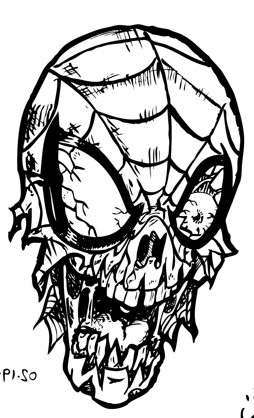 free printable zombie coloring pages free coloring pages of zombie marvel heroes zombie coloring free pages zombie printable