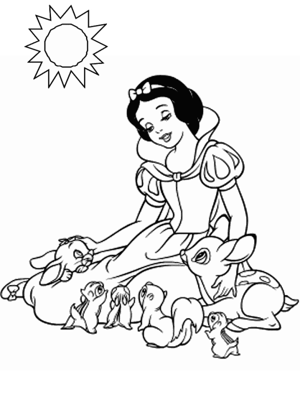 free snow white coloring pages free printable snow white princess coloring pages free pages white snow coloring