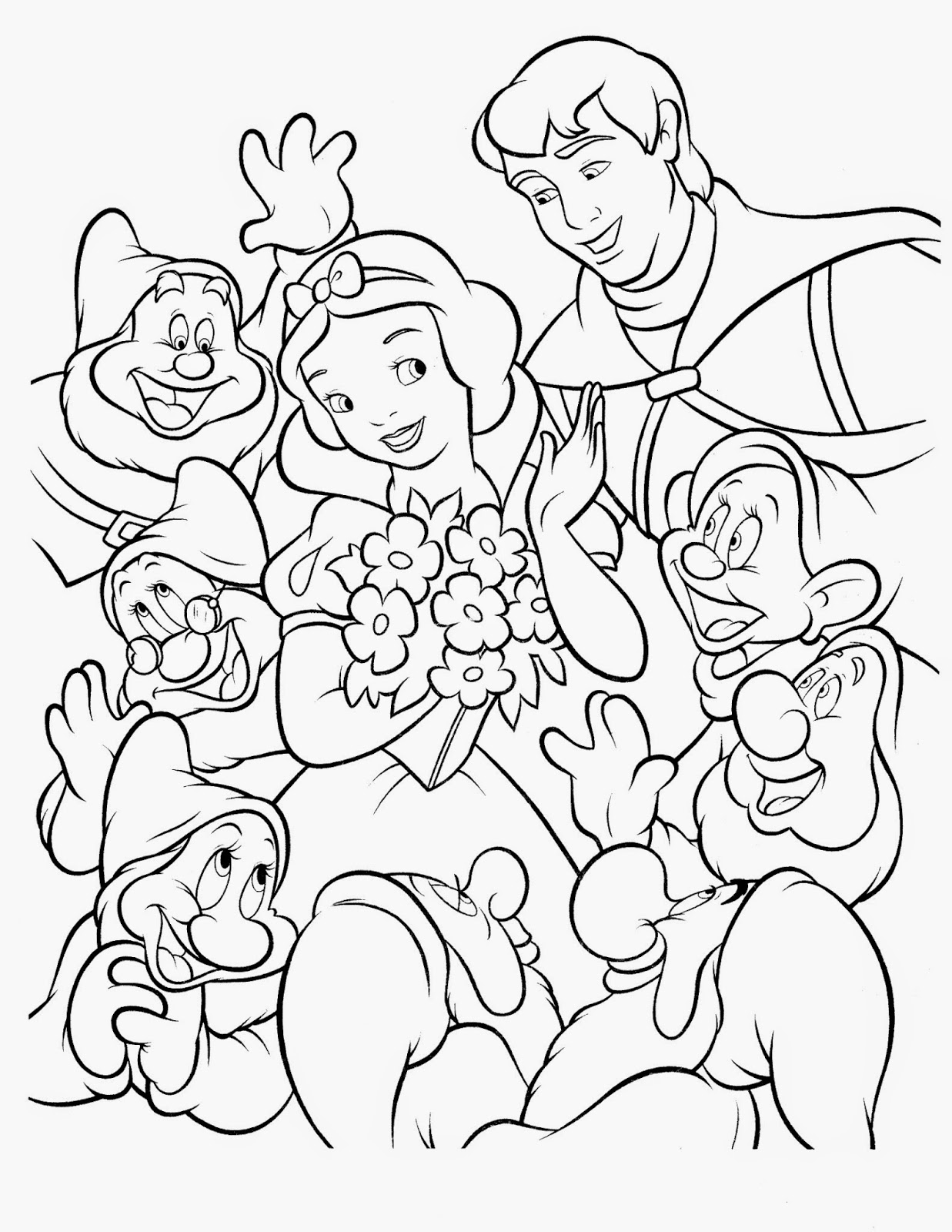 free snow white coloring pages snow white coloring pages best coloring pages for kids coloring white pages free snow