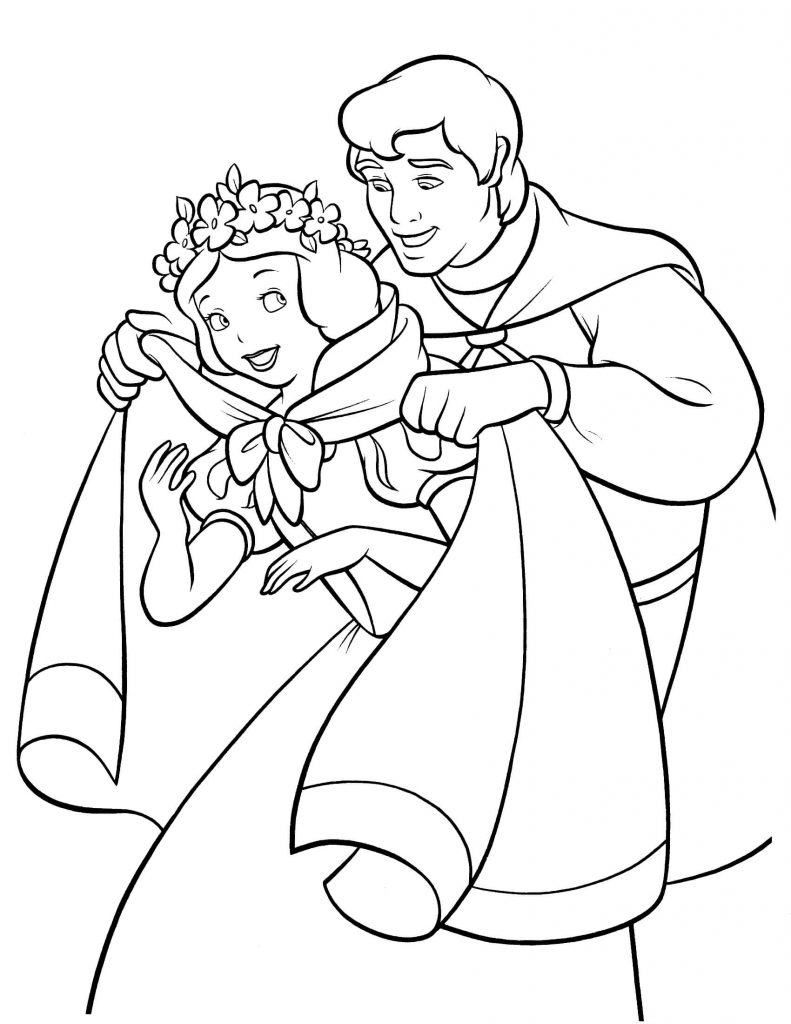 free snow white coloring pages snow white coloring pages from disney princess cartoon white free snow coloring pages