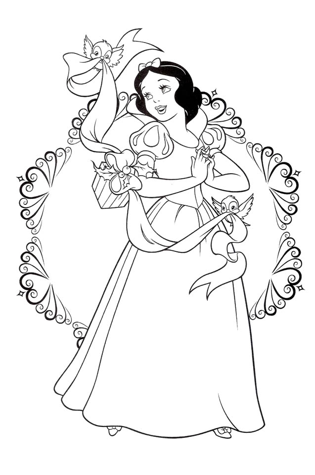 free snow white coloring pages snow white coloring pages to download and print for free coloring snow white pages free