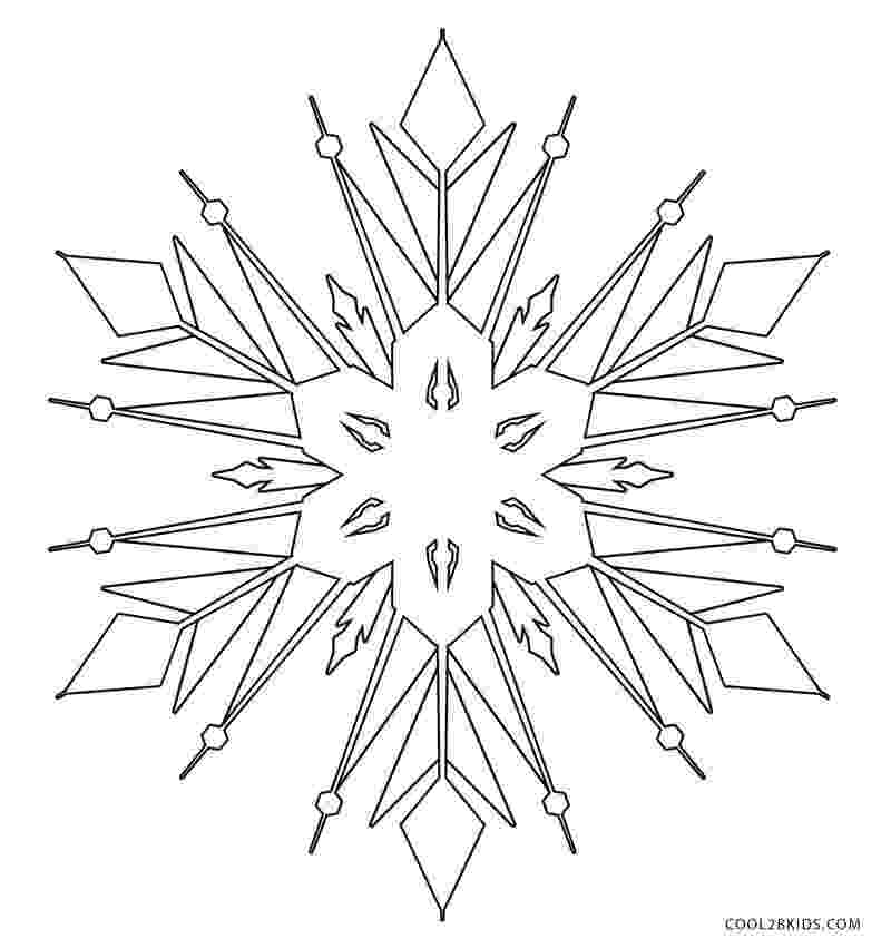 free snowflake coloring pages free printable snowflake coloring pages for kids pages free snowflake coloring