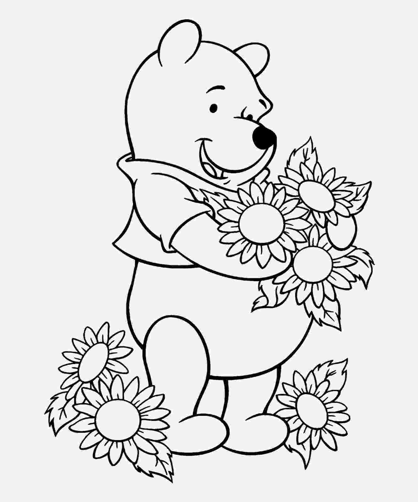 free winnie the pooh coloring sheets coloring pages winnie the pooh kids online world blog free sheets the coloring winnie pooh