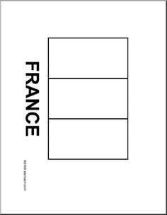 french flag to colour template france flag coloring colour flag template to french