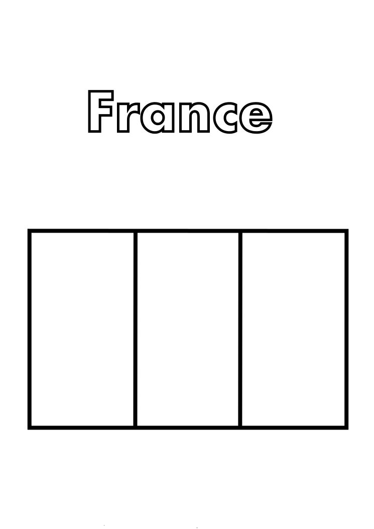 french flag to colour template french flag sheet coloring pages flag french to template colour