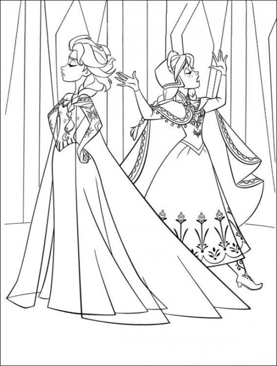 frozen coloring coloring page world frozen portrait frozen coloring