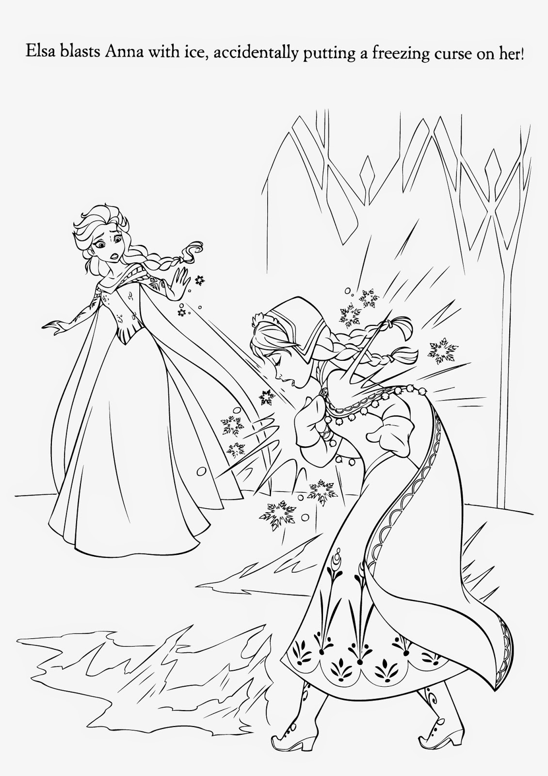 frozen coloring page 50 beautiful frozen coloring pages for your little princess page frozen coloring