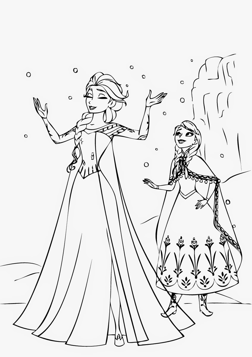 frozen coloring page frozen coloring pages getcoloringpagescom page frozen coloring