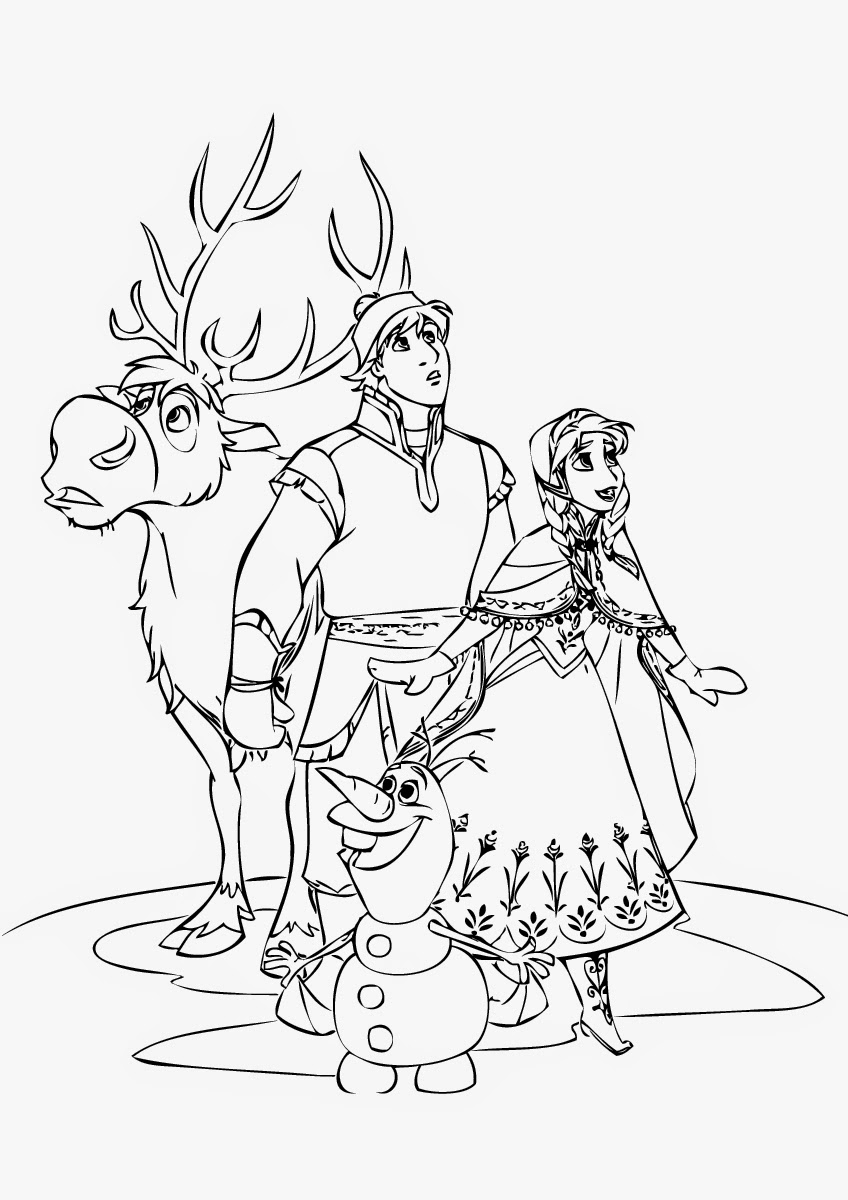 frozen coloring page september 2014 instant knowledge frozen coloring page