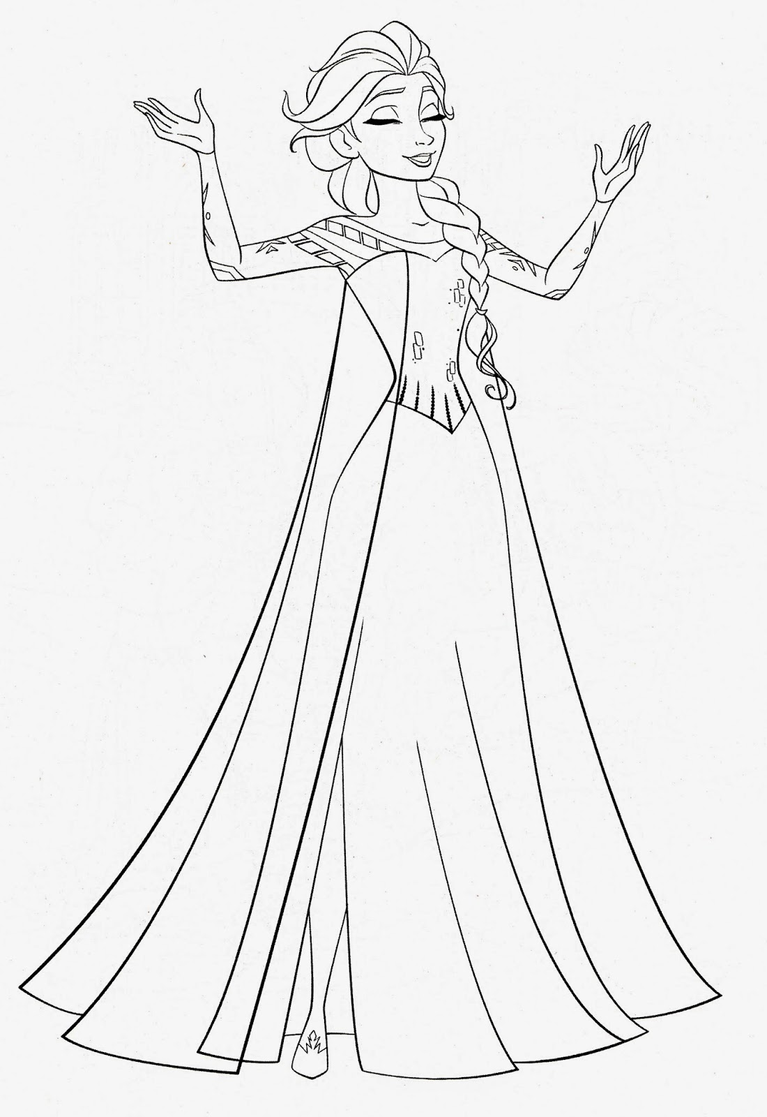 frozen princess coloring pages elsa frozen coloring page google zoeken kleurplaten pages frozen princess coloring