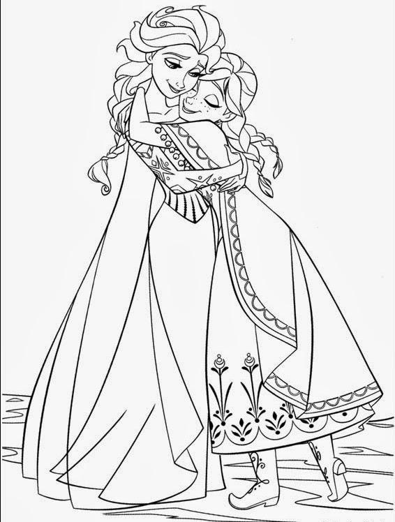 frozen princess coloring pages frozen two princesses of arendelle coloring page coloring pages princess frozen