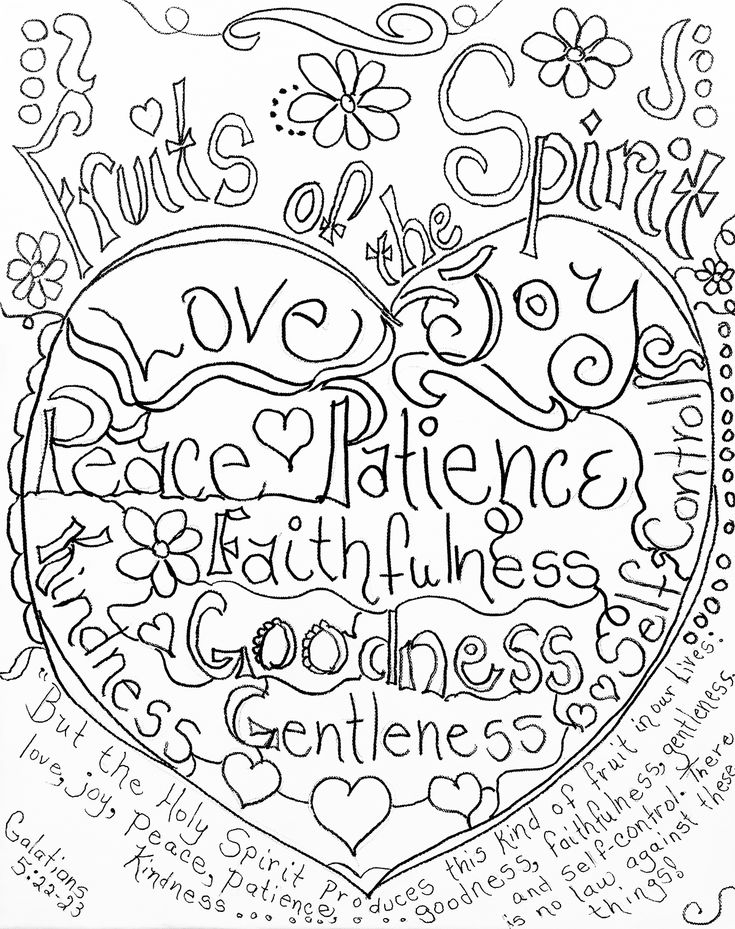 fruit of the spirit coloring page 59 best images about fruit of the spirit love on pinterest of page spirit the coloring fruit