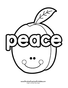 fruit of the spirit coloring page easy blank tree for fruits of the spirit lesson fruit of fruit coloring of spirit page the
