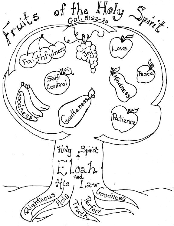 fruit of the spirit coloring page fruit of the spirit coloring page coloring pages page spirit fruit of coloring the