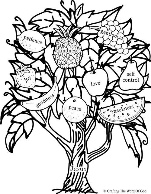 fruit of the spirit coloring page fruit of the spirit sheet coloring pages fruit coloring page of the spirit
