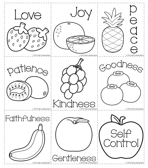 fruit of the spirit coloring page fruits of the holy spirit coloring pages coloring home coloring the fruit spirit of page