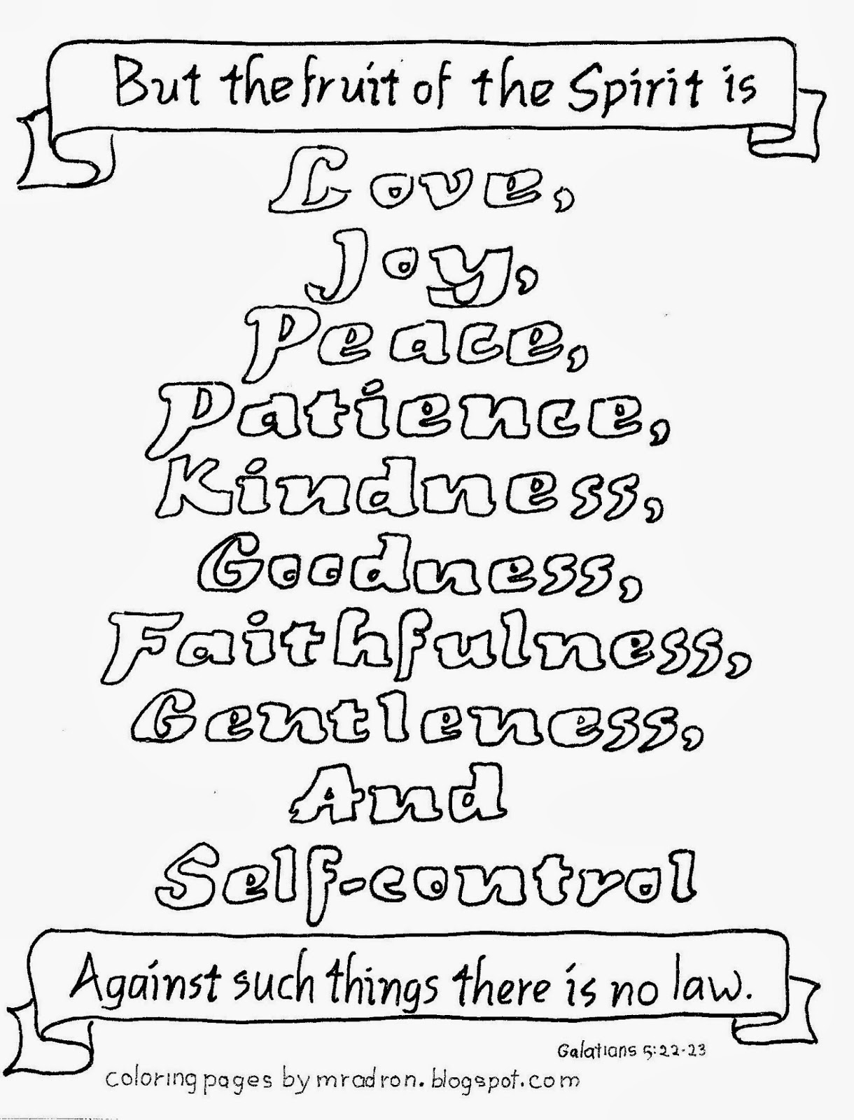 fruit of the spirit coloring page fruits of the spirit bible coloring pages christian coloring spirit fruit page of the