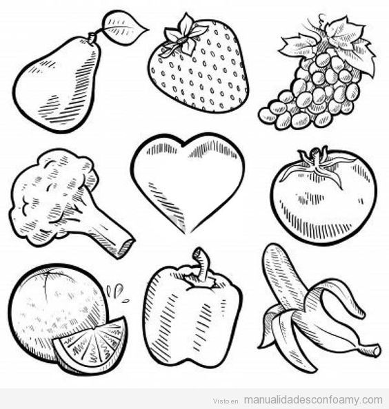 fruits and vegetables coloring book coloring pages of fresh fruit and vegetables fantasy coloring fruits vegetables book and