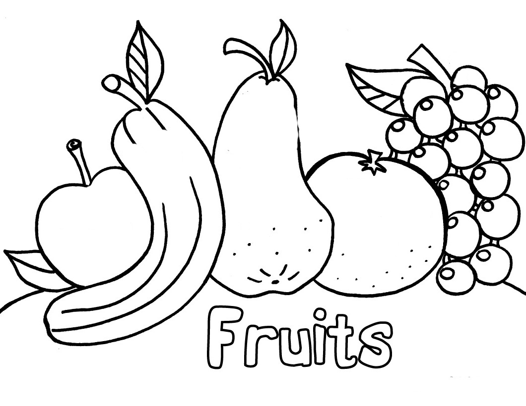 fruits and vegetables coloring book free coloring pages of vegetable gardens and vegetables coloring fruits book