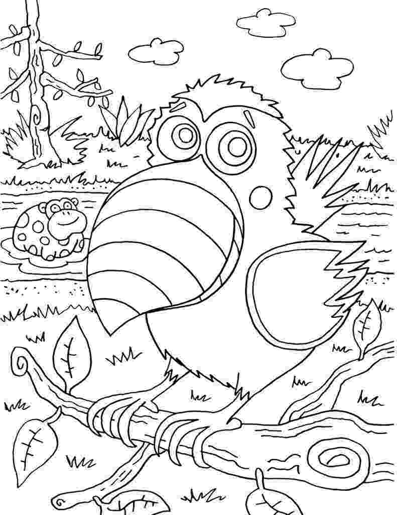 fun coloring sheets 20 fun halloween coloring pages for kids hative fun coloring sheets