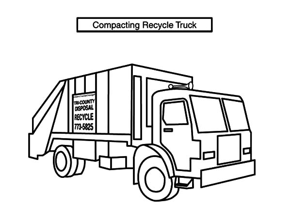 garbage truck coloring page download online coloring pages for free coloring page truck garbage