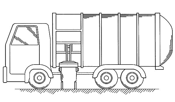 garbage truck coloring page download online coloring pages for free coloring truck page garbage