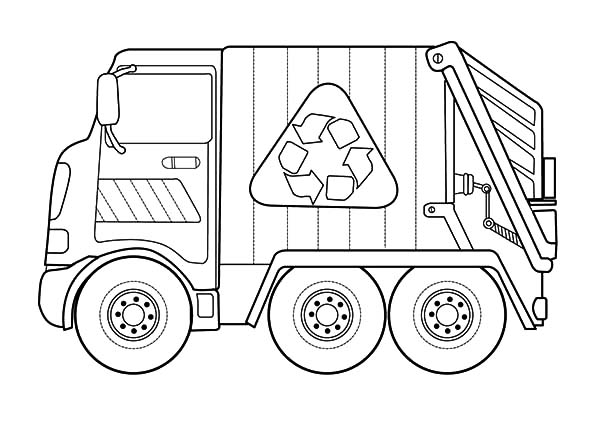 garbage truck coloring page download online coloring pages for free garbage coloring truck page