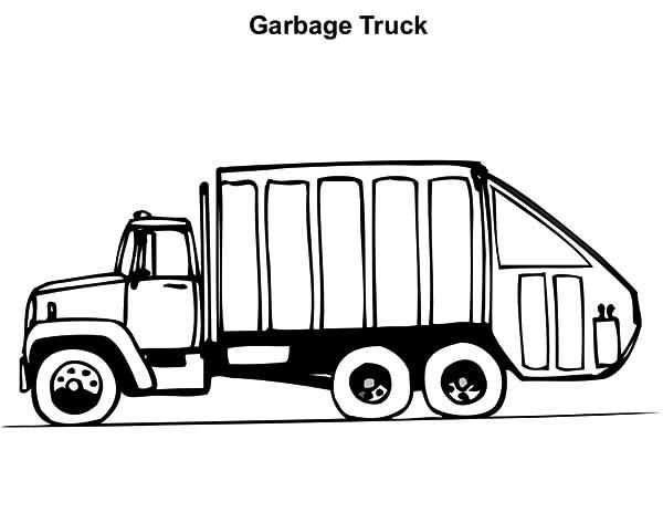 garbage truck coloring page garbage truck coloring page printable mike loved truck page coloring garbage