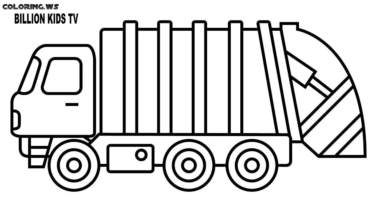 garbage truck coloring page top 10 dump truck coloring pages for your toddlers truck garbage coloring truck page