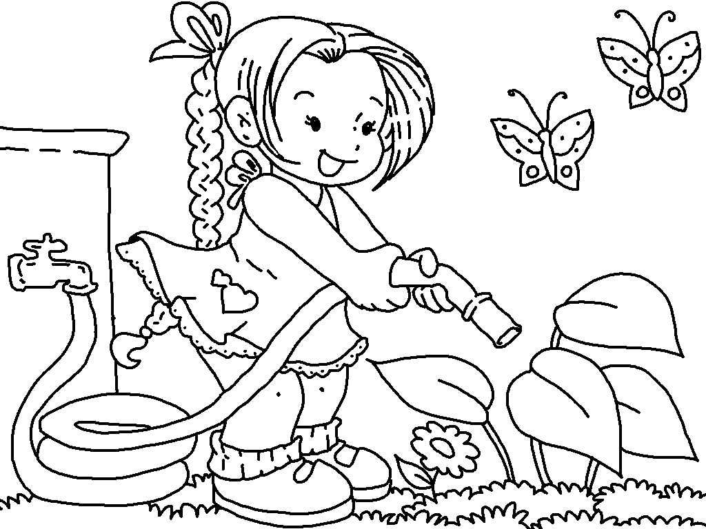 garden coloring 18 best gardening coloring pages images on pinterest garden coloring